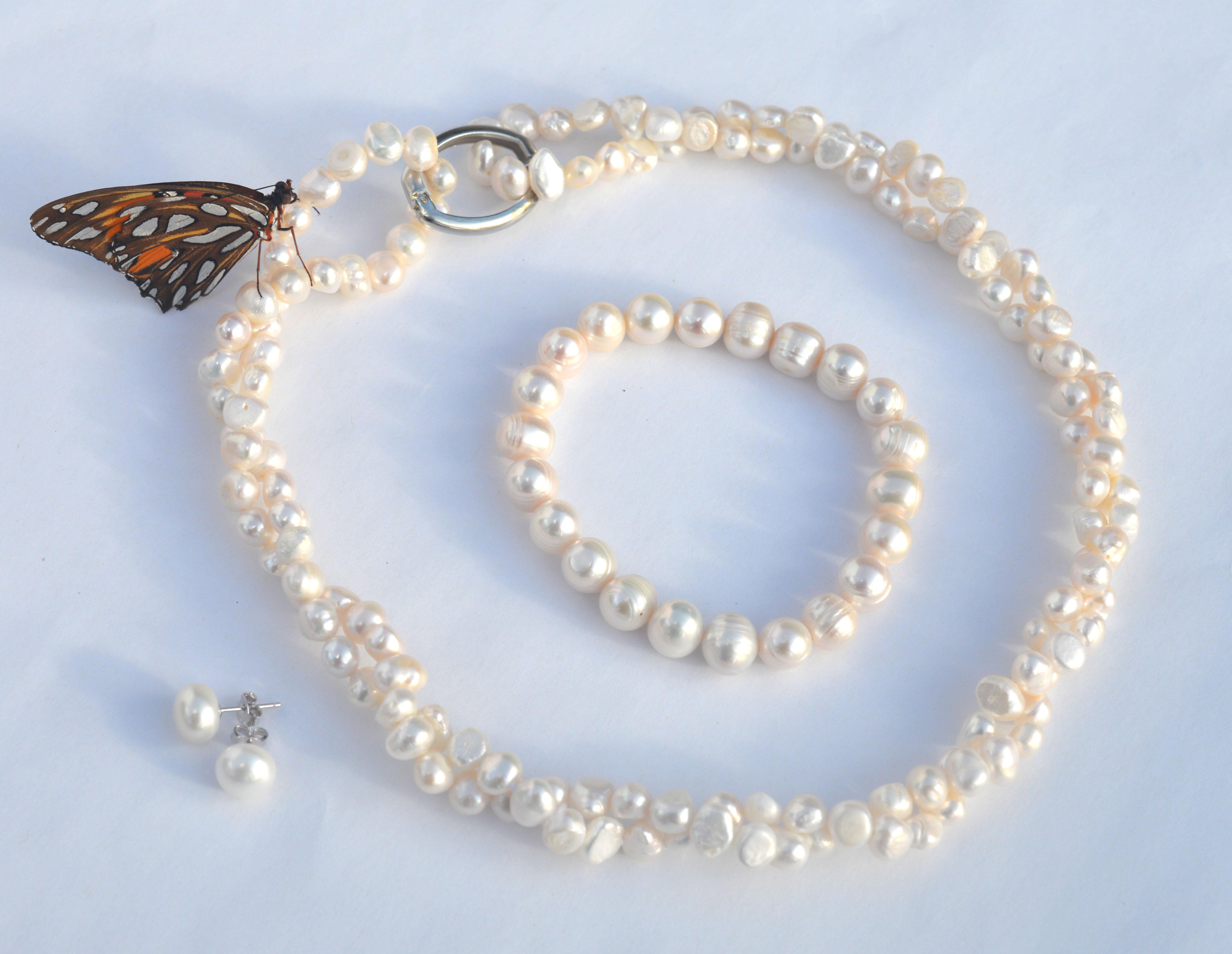 Elegant classic pearls